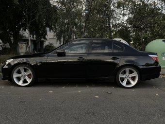 BMW Styling 128 Felge in 8.5x19 ET 18 mit Fulda Sport Control 2 Reifen in 245/35/19 montiert vorn mit 5 mm Spurplatten Hier auf einem 5er BMW E60 540i (Limousine) Details zum Fahrzeug / Besitzer