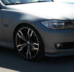 AEZ 433 Design Felge Felge in 8.5x19 ET 35 mit Pirelli P Zero Reifen in 225/35/19 montiert vorn Hier auf einem 3er BMW E90 320d (Limousine) Details zum Fahrzeug / Besitzer
