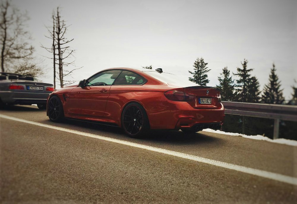 BMW /// M4 Sakhir Orange - 4er BMW - F32 / F33 / F36 / F82