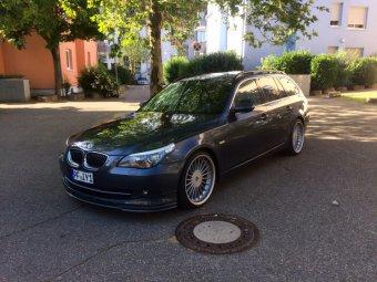 Alpina Classic 1 Felge in 9x20 ET 20 mit Falken  Reifen in 235/30/20 montiert vorn mit 5 mm Spurplatten Hier auf einem 5er BMW E61 530d (Touring) Details zum Fahrzeug / Besitzer