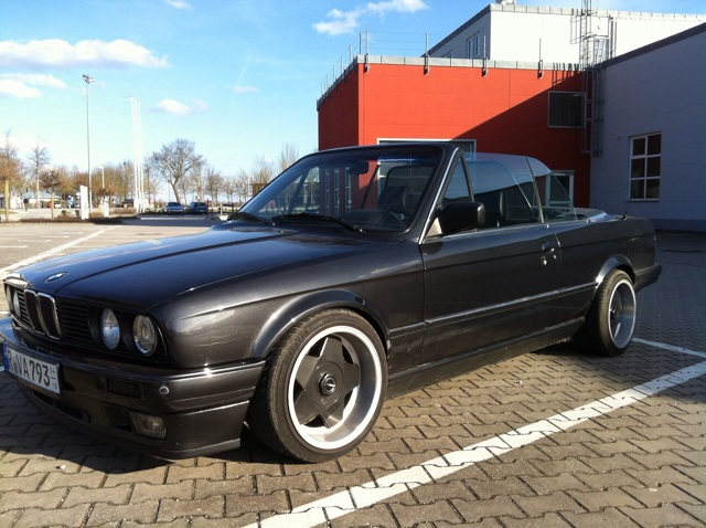 E30 325i Cabrio Diamantschwarz - 3er BMW - E30