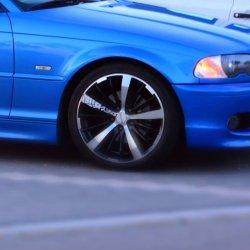 Tomason TN6 Felge in 8.5x18 ET 35 mit Hankook Ventus v12 Reifen in 225/40/18 montiert vorn Hier auf einem 3er BMW E46 320i (Cabrio) Details zum Fahrzeug / Besitzer
