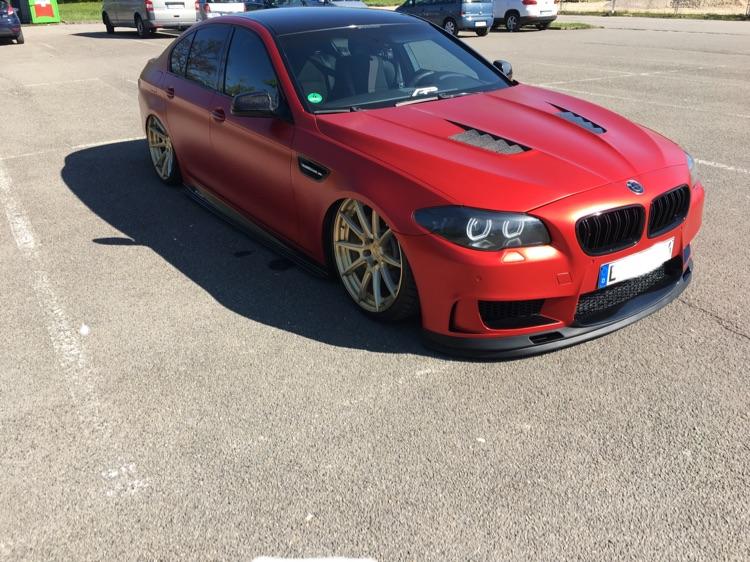 "Air Lift /candyred/21""/prior/agency power.... - 5er BMW - F10 / F11 / F07"