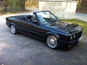 Alpina  Felge in 8x16 ET  mit Falken  Reifen in 225/40/16 montiert hinten mit folgenden Nacharbeiten am Radlauf: Kanten gebördelt Hier auf einem 3er BMW E30 325i (Cabrio) Details zum Fahrzeug / Besitzer