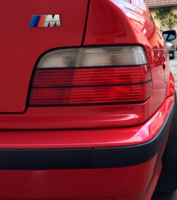 E36, 323 Coupe in Rot aus 36..-HEF - 3er BMW - E36