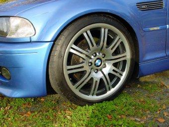 BMW  Felge in 8x19 ET  mit Michelin  Reifen in 225/40/19 montiert vorn Hier auf einem 3er BMW E46 M3 (Coupe) Details zum Fahrzeug / Besitzer