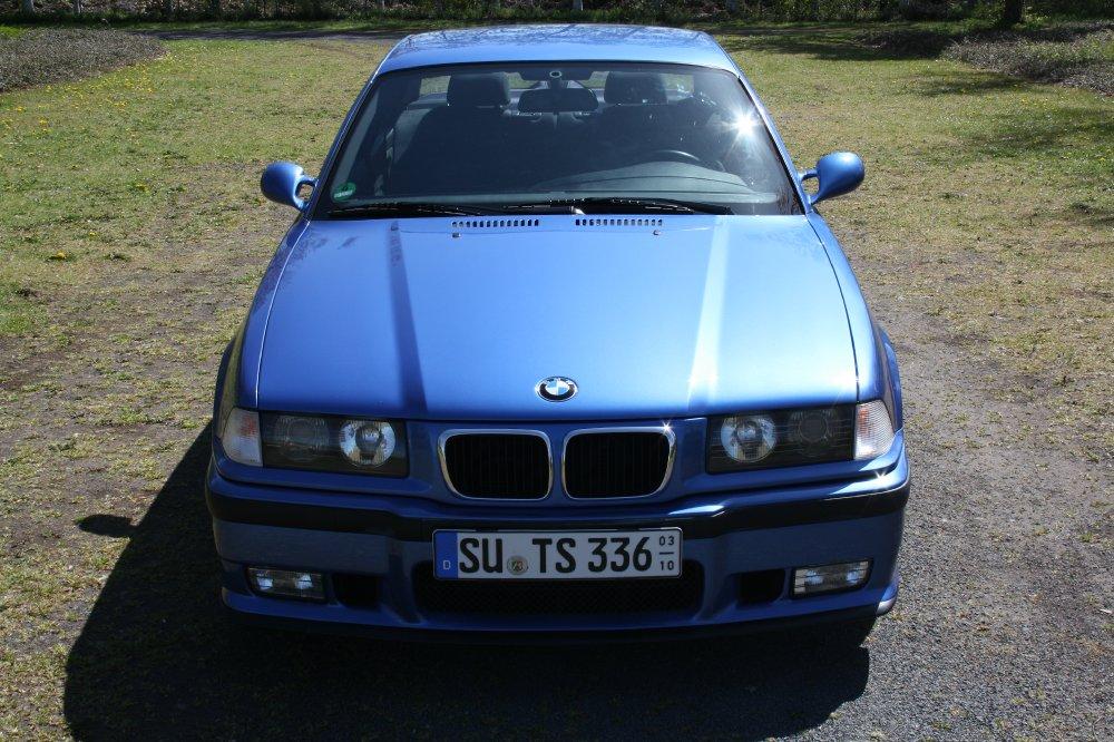 BMW M3 3,2L S50 Estorilblau Individual - 3er BMW - E36