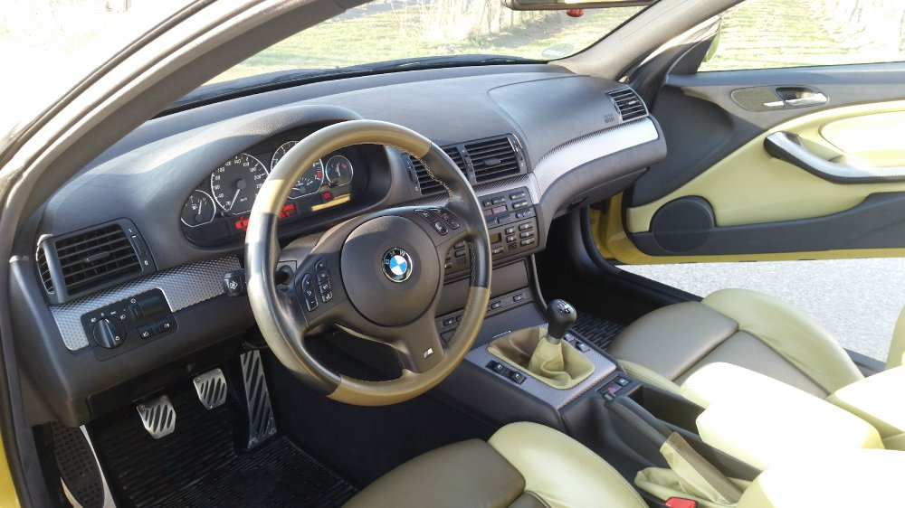 BMW 330CI Clubsport Individual Phönixgelb - 3er BMW - E46