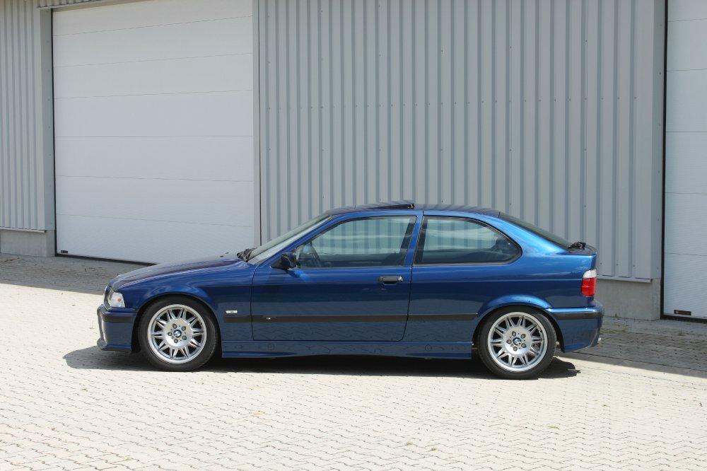 Daily 323ti Compact avusblau - 3er BMW - E36