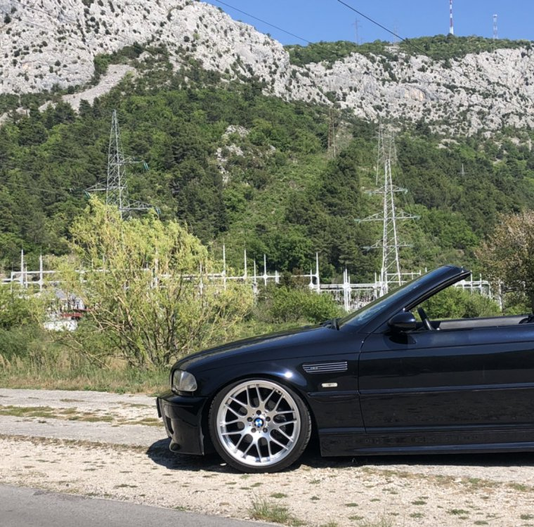 e46 325CI Cabrio... Tief, Breit, Schwarz - 3er BMW - E46