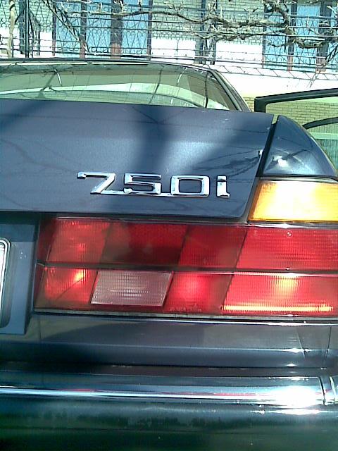 E32 750i - Fotostories weiterer BMW Modelle
