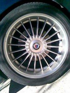 Alpina  Felge in 9.5x19 ET  mit Michelin  Reifen in 285/40/19 montiert hinten Hier auf einem 7er BMW E38 750i (Limousine) Details zum Fahrzeug / Besitzer