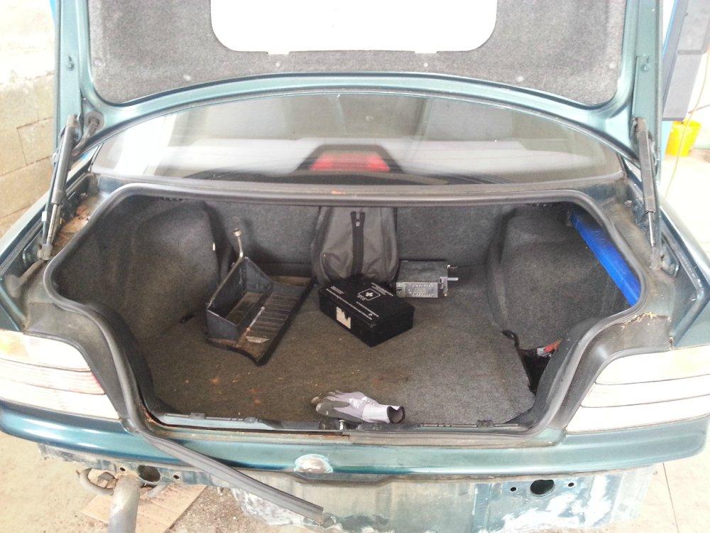 Restauration meines BMW E36 325 tds - 3er BMW - E36