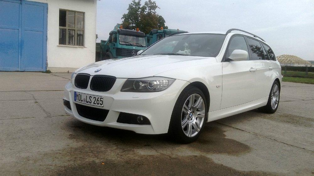 BMW E91 318i M-Paket in Weiß - 3er BMW - E90 / E91 / E92 / E93