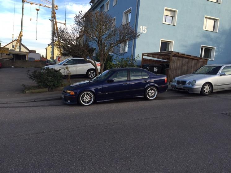 BMW E36 Montrealblau :) - 3er BMW - E36