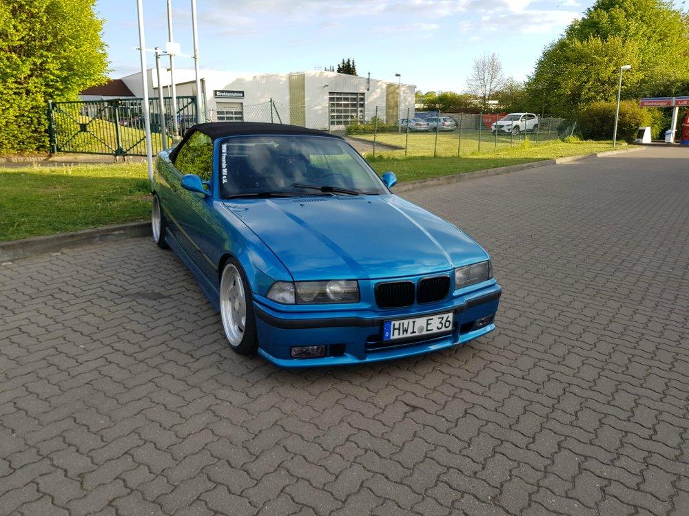 E36 Cabrio - Ozean Blue - 3er BMW - E36