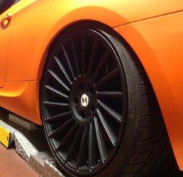 eta beta Venti R Felge in 10.5x20 ET 45 mit Dunlop Sport Maxx Reifen in 285/25/20 montiert hinten Hier auf einem 3er BMW E92 335i (Coupe) Details zum Fahrzeug / Besitzer