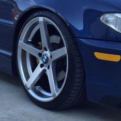 Z-Performance ZP.6 Felge in 8.5x19 ET 35 mit - NoName/Ebay - Accelera PHI Reifen in 225/35/19 montiert vorn Hier auf einem 3er BMW E46 325i (Coupe) Details zum Fahrzeug / Besitzer