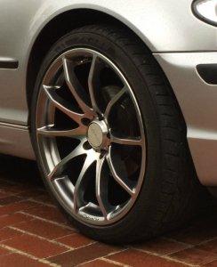 Tomason TN1 Felge in 8.5x19 ET 35 mit Falken  Reifen in 225/40/19 montiert vorn Hier auf einem 3er BMW E46 316i (Limousine) Details zum Fahrzeug / Besitzer