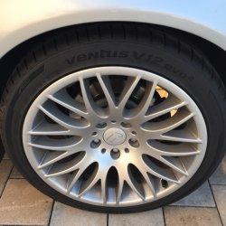 Rondell 0204 Felge in 8.5x18 ET  mit Hankook Evo12 Reifen in 235/40/18 montiert hinten Hier auf einem 5er BMW E39 528i (Limousine) Details zum Fahrzeug / Besitzer