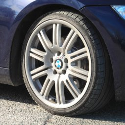 - NoName/Ebay - E46 M3 replica Felge in 8x19 ET  mit - NoName/Ebay - Hifly HF805 Reifen in 225/35/19 montiert vorn Hier auf einem 3er BMW E92 325i (Coupe) Details zum Fahrzeug / Besitzer
