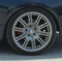 - NoName/Ebay - E46 M3 replica Felge in 9.5x19 ET  mit - NoName/Ebay - Hifly HF805 Reifen in 255/35/19 montiert hinten Hier auf einem 3er BMW E92 325i (Coupe) Details zum Fahrzeug / Besitzer