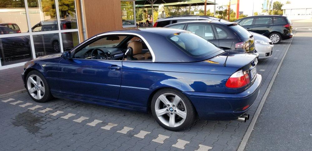 E46 320ci Cab Mysticblue - 3er BMW - E46