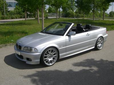 e46 330i cabrio 19 39 39 bbs challenge m tech ii 3er bmw e46 cabrio tuning fotos. Black Bedroom Furniture Sets. Home Design Ideas