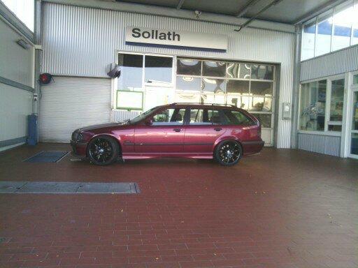 E36, 332i,  S52 B32  Touring - 3er BMW - E36