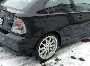 Autec  Felge in 8.5x18 ET  mit Hankook  Reifen in 225/40/18 montiert hinten Hier auf einem 3er BMW E46 316ti (Compact) Details zum Fahrzeug / Besitzer
