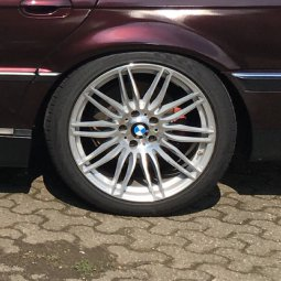 Carsonic Wheels Csw09 Felge in 9.5x19 ET 20 mit Falken Avensis Reifen in 275/35/19 montiert hinten Hier auf einem 7er BMW E38 735i (Limousine) Details zum Fahrzeug / Besitzer