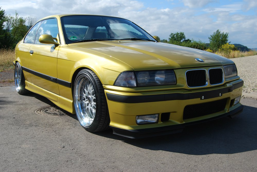 e36 austin yellow 3er bmw e36 coupe tuning. Black Bedroom Furniture Sets. Home Design Ideas