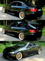 BMW E93 N53 - Sapphire Black Metallic - M3 Parts
