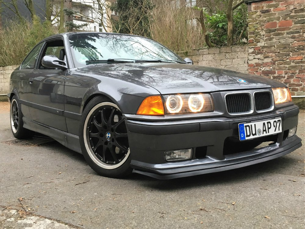 E36 Coupe 320i Fjordgrau - 3er BMW - E36