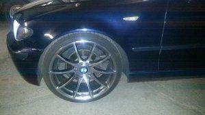 Tomason Tn1 Felge in 8.5x19 ET 35 mit Nokian Reifen Z Line Reifen in 225/35/19 montiert vorn Hier auf einem 3er BMW E46 320i (Limousine) Details zum Fahrzeug / Besitzer