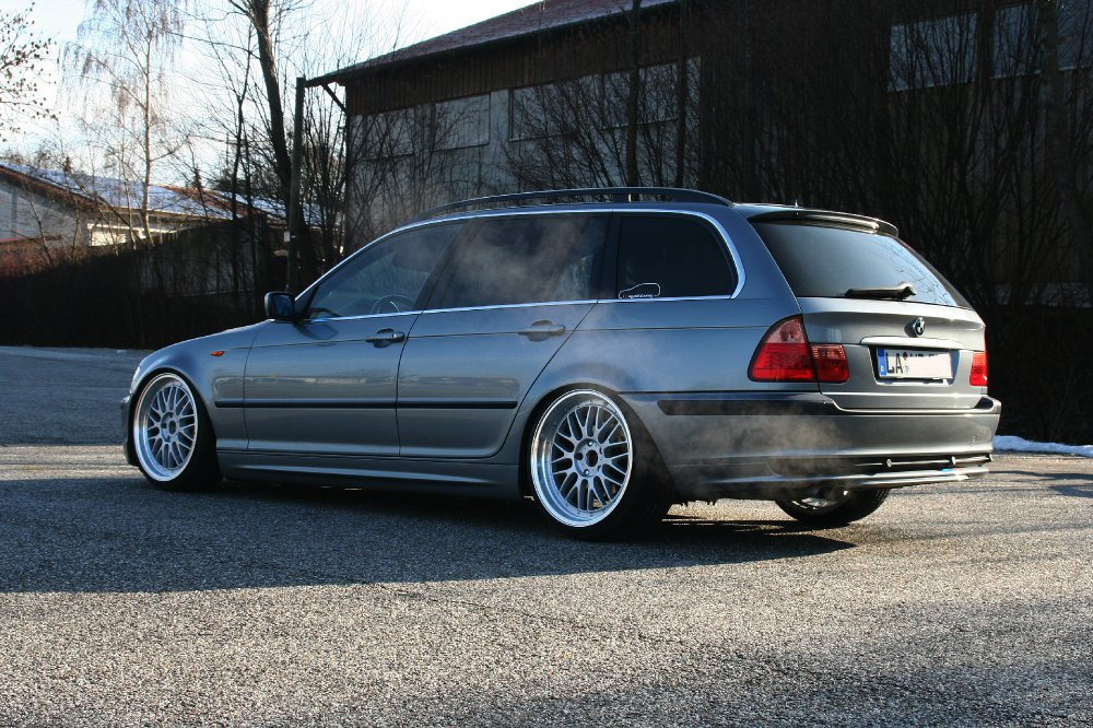 e46 touring tieflieger 3er bmw e46 touring tuning fotos bilder stories. Black Bedroom Furniture Sets. Home Design Ideas
