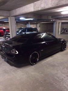 royal wheels GT20 Felge in 9.5x20 ET 30 mit Hankook GT20 Reifen in 265/25/20 montiert hinten mit 25 mm Spurplatten und mit folgenden Nacharbeiten am Radlauf: gebördelt und gezogen Hier auf einem 3er BMW E46 M3 (Coupe) Details zum Fahrzeug / Besitzer