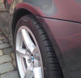 ROD 0204 Felge in 8x18 ET 20 mit Falken  Reifen in 245/45/18 montiert hinten mit 20 mm Spurplatten Hier auf einem 5er BMW E60 525d (Limousine) Details zum Fahrzeug / Besitzer