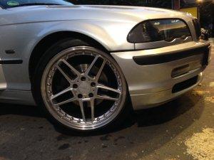 AC Schnitzer Futura Felge in 8.5x19 ET 45 mit AC Schnitzer Pirelli Reifen in 225/40/19 montiert vorn Hier auf einem 3er BMW E46 328i (Limousine) Details zum Fahrzeug / Besitzer