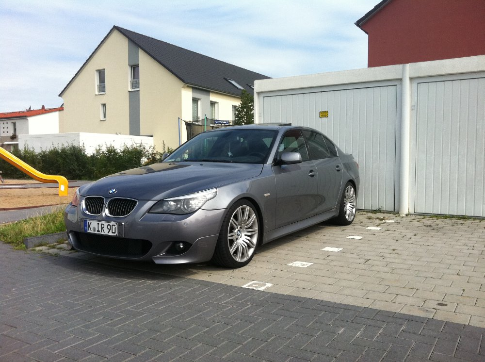 e60 lci spacegrau mit m paket und 172m 5er bmw e60. Black Bedroom Furniture Sets. Home Design Ideas