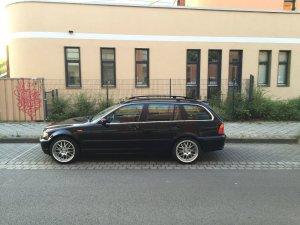 ASA Felgen AR1 Felge in 8x18 ET 35 mit Hankook S1 EVO2 Reifen in 225/40/18 montiert vorn Hier auf einem 3er BMW E46 330d (Touring) Details zum Fahrzeug / Besitzer