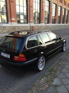 ASA Felgen AR1 Felge in 9x18 ET 35 mit Hankook S1 EVO2 Reifen in 225/40/18 montiert hinten Hier auf einem 3er BMW E46 330d (Touring) Details zum Fahrzeug / Besitzer