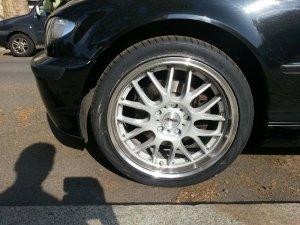ASA Felgen AR1 Felge in 8x18 ET 35 mit Vredestein Ultrac Vorti Reifen in 225/40/18 montiert vorn Hier auf einem 3er BMW E46 325i (Limousine) Details zum Fahrzeug / Besitzer