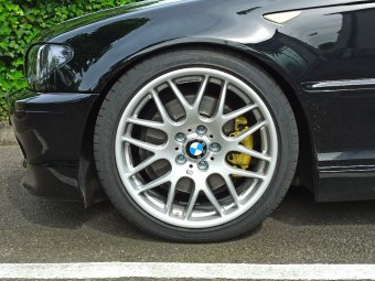- NoName/Ebay - AVUS Racing AC-MB4 Felge in 8x18 ET 34 mit Dunlop SP Sport Maxx RT2 Reifen in 225/40/18 montiert vorn Hier auf einem 3er BMW E46 330i (Coupe) Details zum Fahrzeug / Besitzer