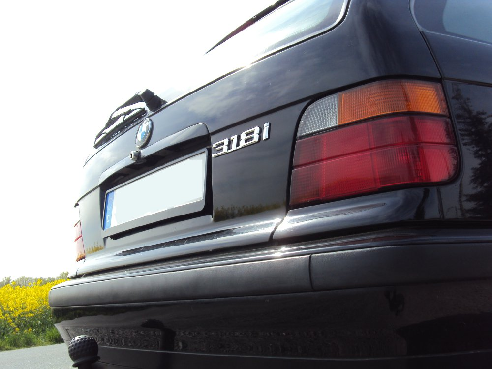 318i E36 Touring Schwarz II - 3er BMW - E36