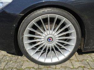 Alpina Classic Felge in 8.5x21 ET 25 mit Michelin Pilot Sport Reifen in 245/35/21 montiert vorn mit 12 mm Spurplatten Hier auf einem 7er BMW F01 740d (Limousine) Details zum Fahrzeug / Besitzer