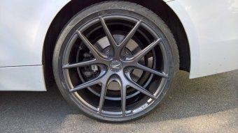 Z-Performance ZP.09 Felge in 9.5x19 ET 40 mit Pirelli P-Zero Reifen in 255/35/19 montiert hinten Hier auf einem 4er BMW F33 435i (Cabrio) Details zum Fahrzeug / Besitzer