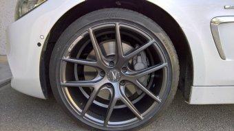 Z-Performance ZP.09 Felge in 8.5x19 ET 35 mit Pirelli P-Zero Reifen in 225/40/19 montiert vorn Hier auf einem 4er BMW F33 435i (Cabrio) Details zum Fahrzeug / Besitzer