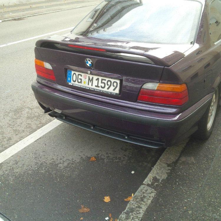 Erster Traum BMW Daytona Violett - 3er BMW - E36
