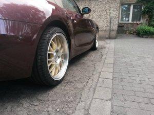 ASA Felgen AR1 Felge in 9x18 ET 35 mit Hankook Evo S1 Reifen in 245/35/18 montiert hinten Hier auf einem Z4 BMW E85 3.0i (Roadster) Details zum Fahrzeug / Besitzer